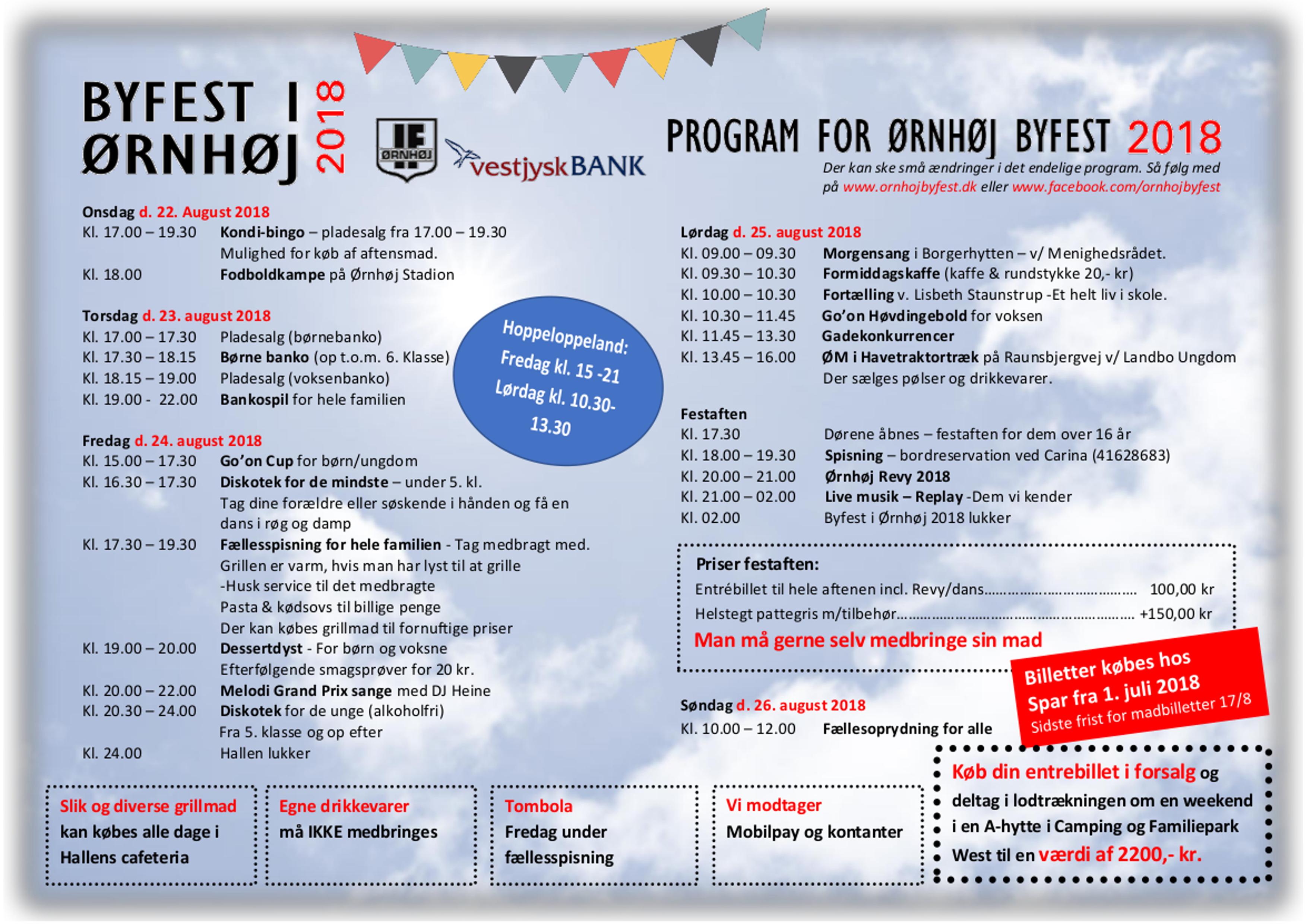 Byfestprogram 2018