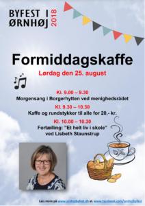 Formiddagskaffe 2018